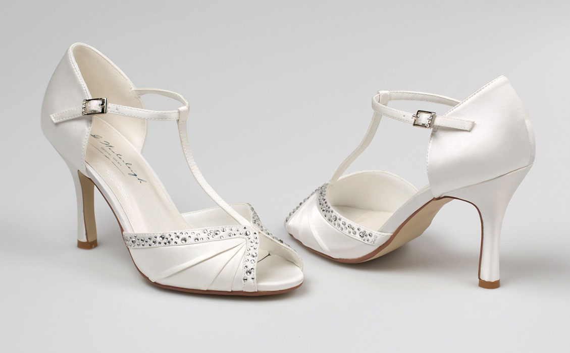 G. Westerleigh Tiffany menyasszonyi cipő ac09f8c794