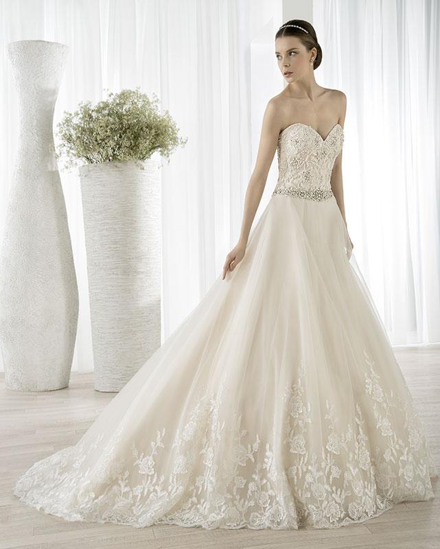 Demetrios 615 menyasszonyi ruha elegáns 14635e4c30
