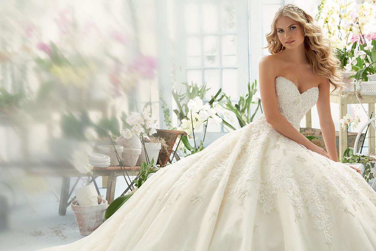 b417099dd2 Mori Lee 2808 menyasszonyi ruha - Royal Szalon Kiskunhalas