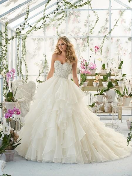 4dd051273f Mori Lee 2815 menyasszonyi ruha - Royal Szalon Kiskunhalas