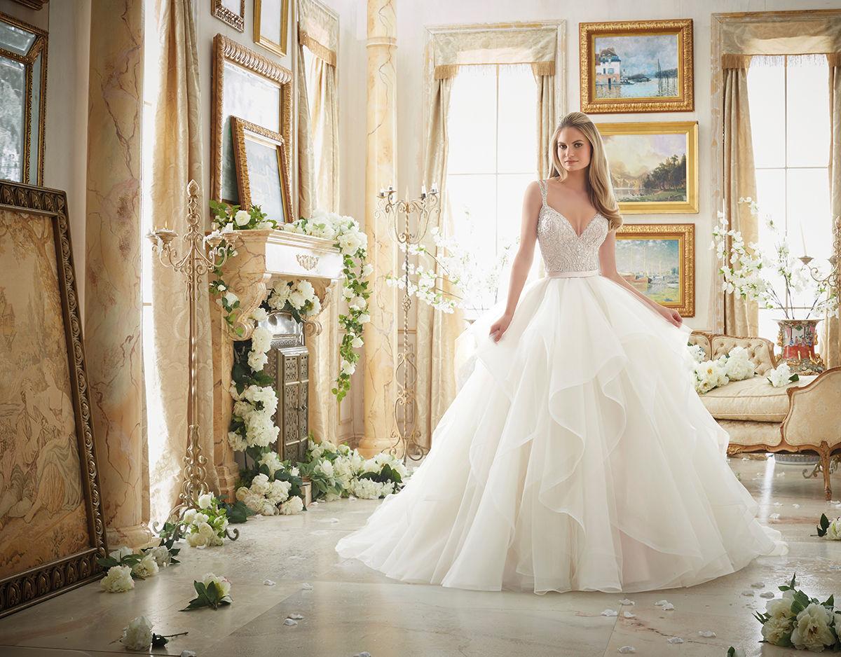 e7260cb3e8 Mori Lee 2887 menyasszonyi ruha - Royal Szalon Kiskunhalas